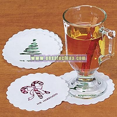 Personalized Disposable Coasters