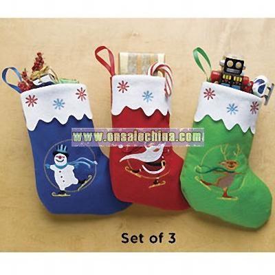 Holiday Stocking Totes