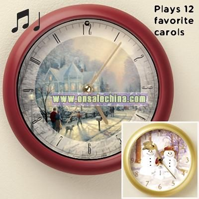 Christmas Carol Clocks
