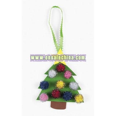 Christmas Tree Ornament Craft Kit
