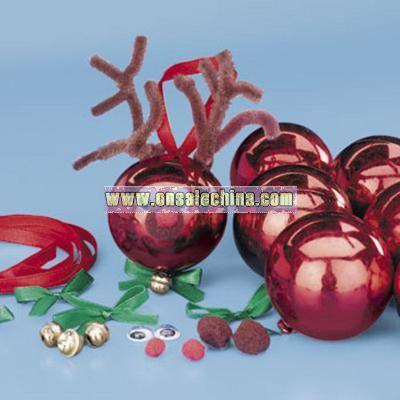 Reindeer Ball Ornament Craft Kit