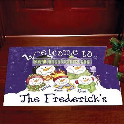 Welcome To..Door Mat - Family