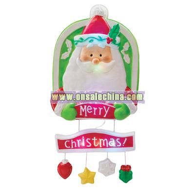 Santa LED Door Hanger