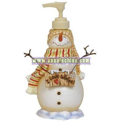I Love Winter Lotion Pump