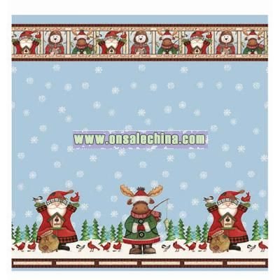Winter Pals Shower Curtain