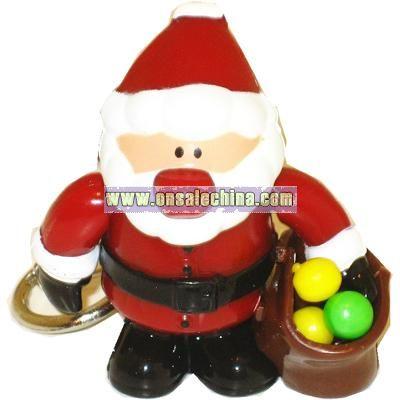 Sweet Santa Candy Dispenser Keychain