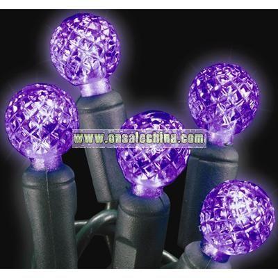 Amethyst Purple Raspberry LED Christmas Light