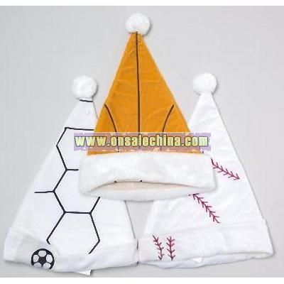 Wholesale Santa Hat Sport Design