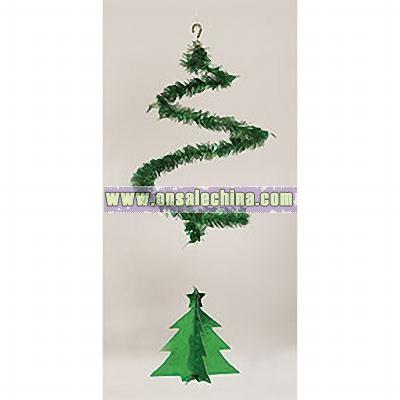 TREE TINSEL DANGLER TREE