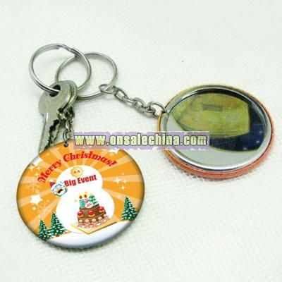 Christmas Gift- Mirror Keychain