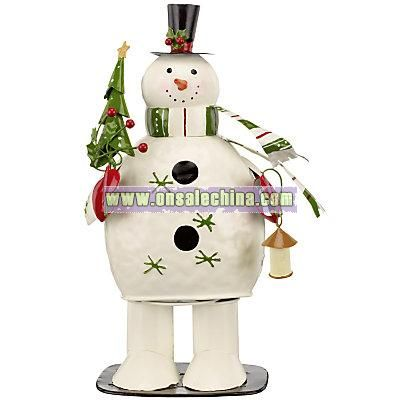 Tin Wobbly Snowman, Small