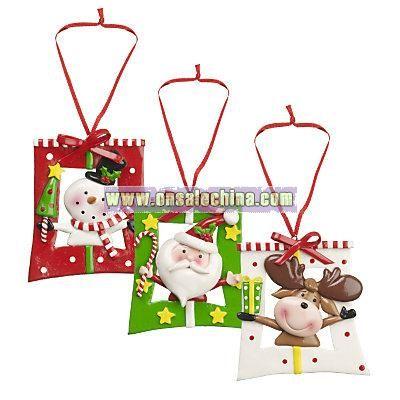 Claydo Presents Christmas Tree Decoration