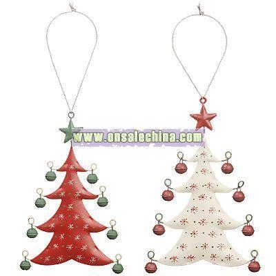 Metal Bell Christmas Trees