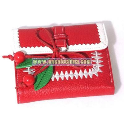 Christmas PU Ladies' Purse