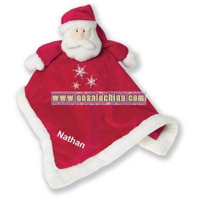 Personalized Santa Baby Blanket