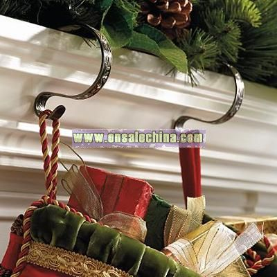 Gemstone Mantel Stocking Clips
