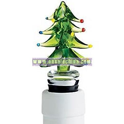 Christmas Tree Bottle Stopper