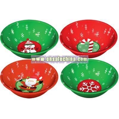 Christmas Small Plastic Bowl