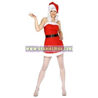Xmas Lady Costume - Small Size