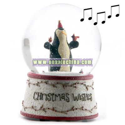 Christmas Wishes Musical Snowstorm