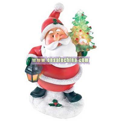 Led Light-up Santa Figurine