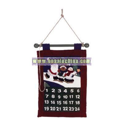 Plush Xmas Friends Calendar