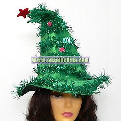 christmas tree novelty hat