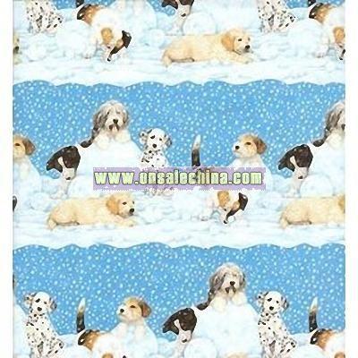 Snowdogs Christmas Gift Wrap