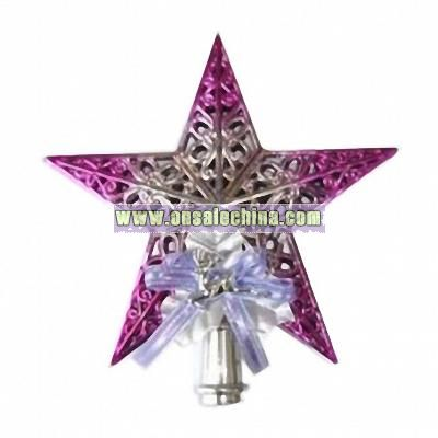 Shiny Star Christmas Tree Topper