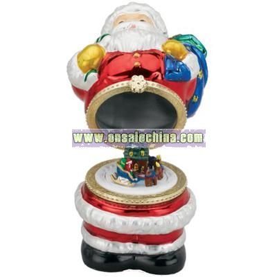 Mr. Christmas 4 1/2-Inch Mini Porcelain Music Box
