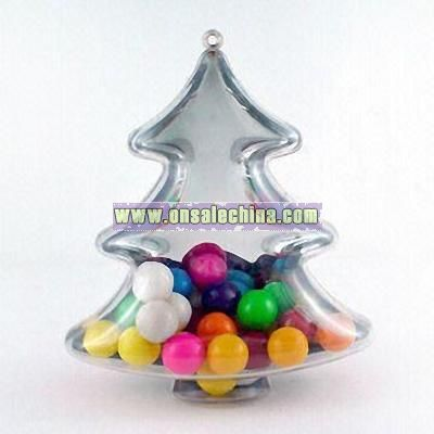 Christmas Tree-shaped Candy Container