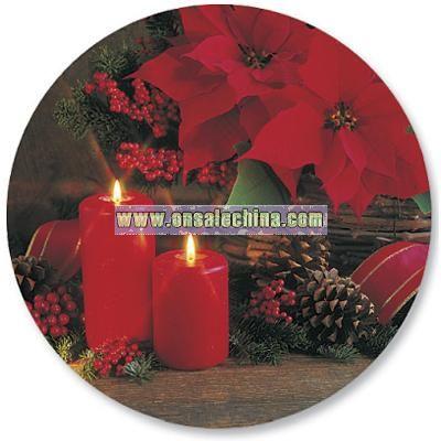 Floral Christmas Envelope Seals