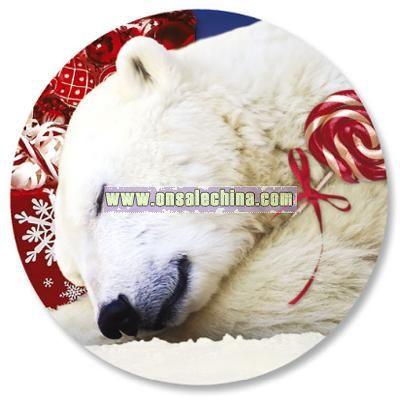 Polar Bear Christmas Envelope Seals