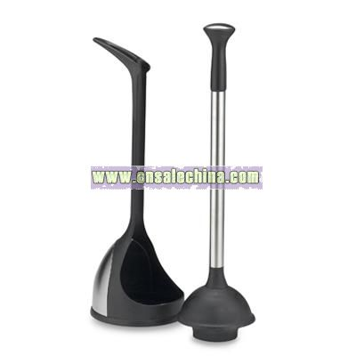 toilet plunger holder i also scrubbed the floors pretty good i hate cleaning floors too i was. Black Bedroom Furniture Sets. Home Design Ideas
