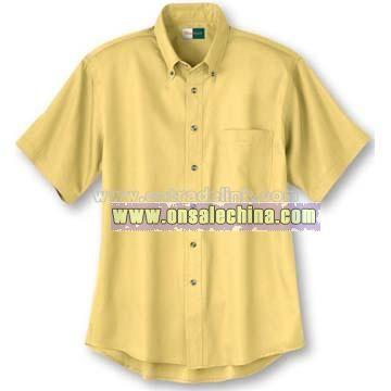 Men's DriTech SS Twill Shirt