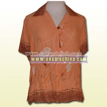 100% Silk Woven-styles Garments