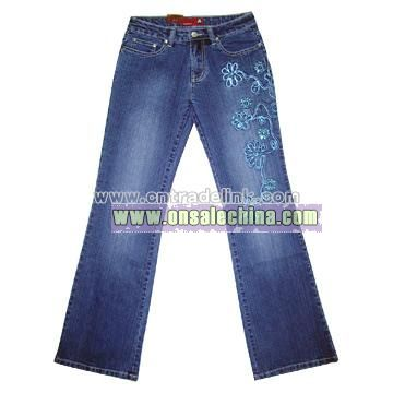 Ladies' Stretch Jeans