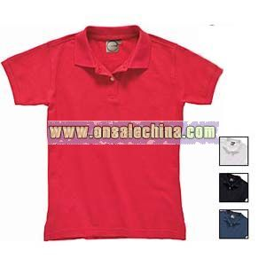 ORGANIC COTTON LADIES POLO SHIRTS