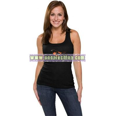 Giants Women's Primary Logo Fashion Rib Tank
