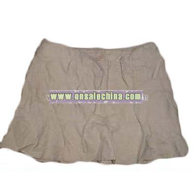 Tu-chuzy  Tan jeans skirt