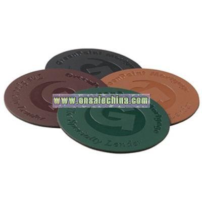 Bonded Leather Coaster