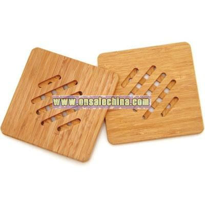 Bamboo Mat For Pot and Cup Pad