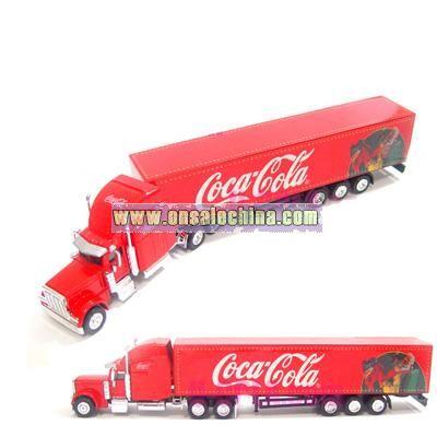 Coca Coal Christmas Truck
