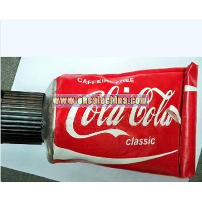 Coca Coal Toothpaste Shape Tissue Dispenser