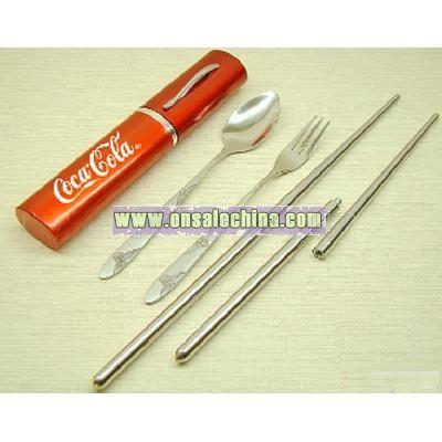 Coca Cola Portable Chopsticks