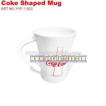 Coca-cola Coke Shap Mug
