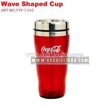 Coca-cola Wave Shap Cup