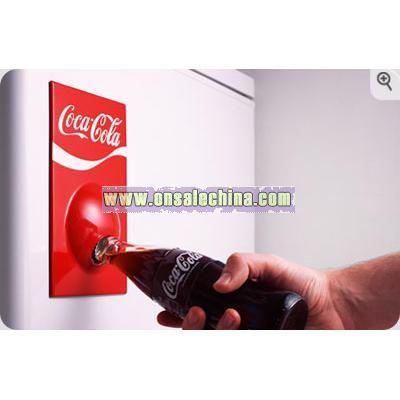 Coca Cola Fridge Magnet Bottle Opener