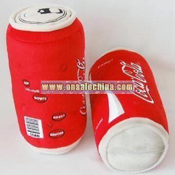 Stuffed and Plush Can Coca Coal FM Scan Radio