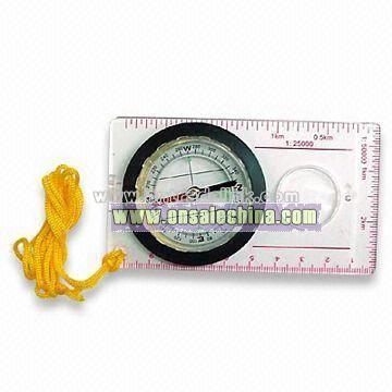 Ruler compass